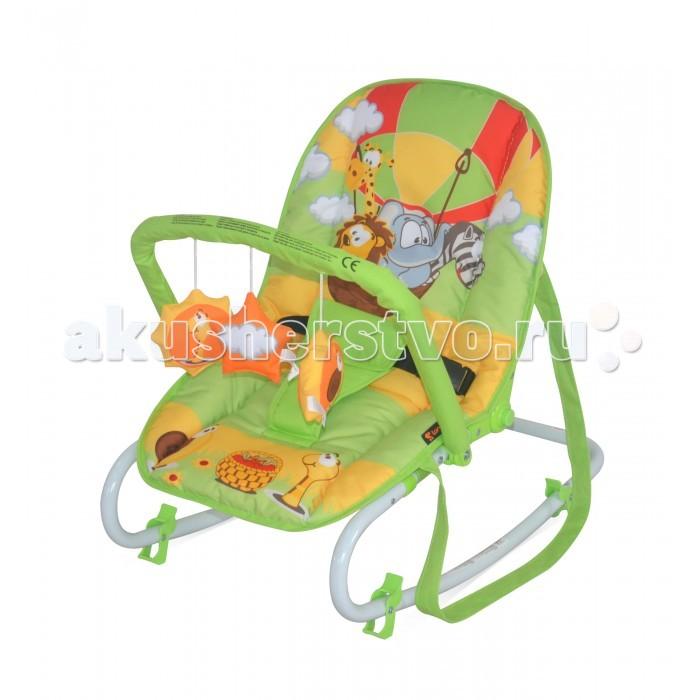 Bertoni (Lorelli) Шезлонг-качалка Top RelaxШезлонг-качалка Top RelaxBertoni (Lorelli) Шезлонг-качалка Top Relax позволяет развивать у ребенка зрительную и двигательную координацию.  Аксессуары можно использовать и отдельно, как обычные игрушки или погремушки. Кроме того очень удобен, можно использовать как переноску по квартире.  Особенности: кресло-качалка для сна и игры мультипозиционная спинка легкий и компактный съемная тканевая часть функция покачивания стопоры для жесткой фиксации благодаря функции качения обладает релаксирующим эффектом яркая расцветка ткани, благотворно влияющая на психоэмоциональное состояние ребенка<br>