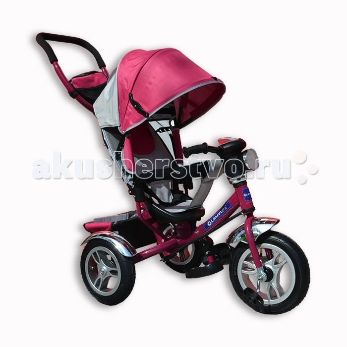 Велосипед трехколесный Glamvers TigerTigerВелосипед трехколесный Glamvers Tiger – настоящее спасение для мам с маленькими детьми.   Особенности: Надувные колёса Мягкий съемный бампер Звонок на руле Регулируемая спинка в 3-х положениях Удобные подножки Большой Раздвижной капюшон Максимальная нагрузка: 30 кг<br>