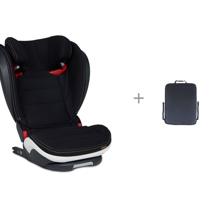 Группа 2-3 (от 15 до 36 кг) BeSafe iZi Flex S Fix Premium Car Interior Black и защитная накидка Экокожа ProtectionBaby