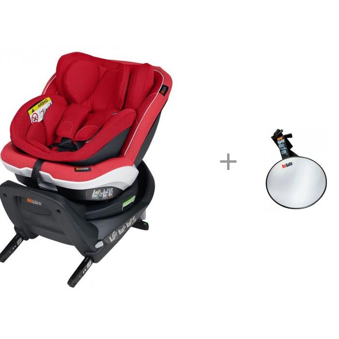 Картинка для Группа 0-1 (от 0 до 18 кг) BeSafe iZi Twist B i-Size c зеркалом BeSafe Baby Mirror для контроля за ребенком
