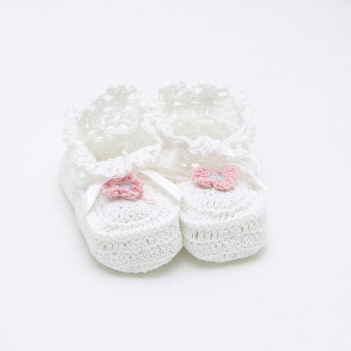Пинетки Baby Nice (ОТК) Пинетки детские вязанные P10011(P30011)/2