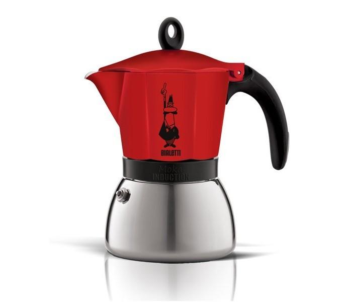 Bialetti Набор гейзерная кофеварка Venus 4 порции с кружками