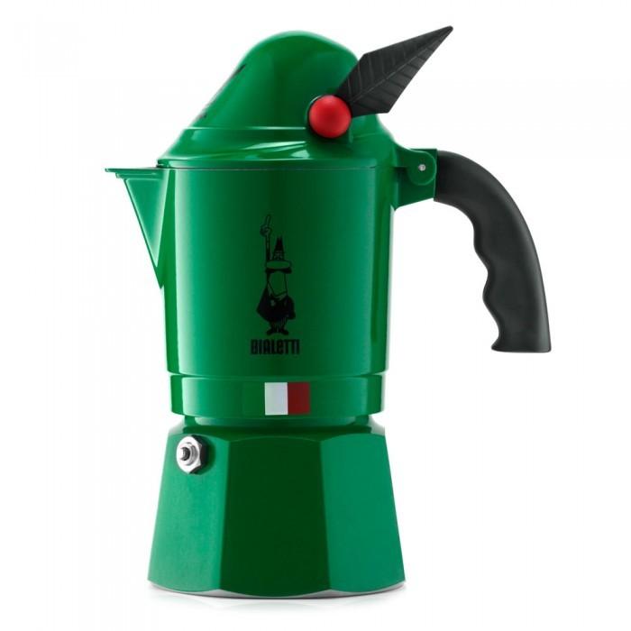 Фото - Бытовая техника Bialetti Гейзерная кофеварка Alpina 3 порции гейзерная кофеварка bialetti aeternum divina 4 порции металлик