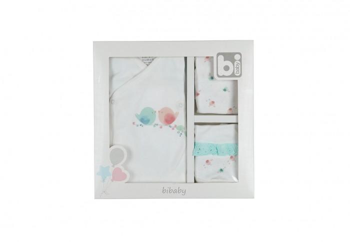 Комплект на выписку Bibaby для девочки 5 предметов 62120