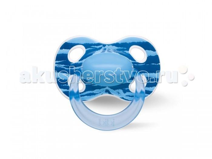 Пустышки Bibi Natural силикон 6-16 месяцев Happiness Ring Wild Baby