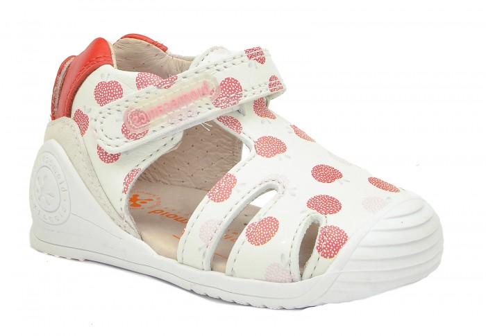 Босоножки и сандалии Biomecanics Туфли открытые для девочки 202115-A босоножки и сандалии biomecanics туфли для мальчика 202137 b