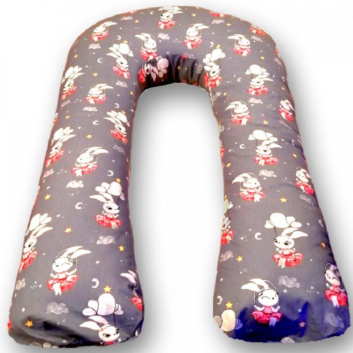Купить Подушки для беременных, БиоСон Подушка для беременных U Зайка (перкаль) 340х35