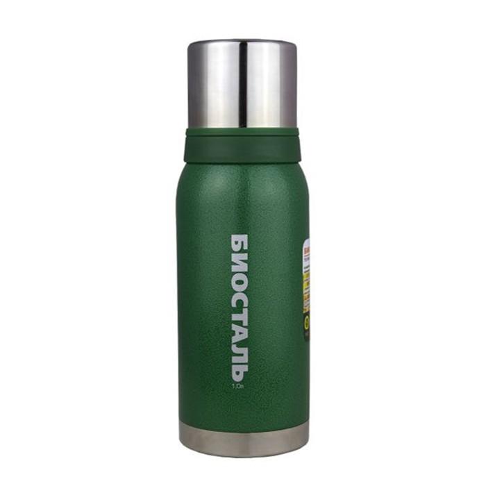Термос Biostal Охота 2 чашки 1 л