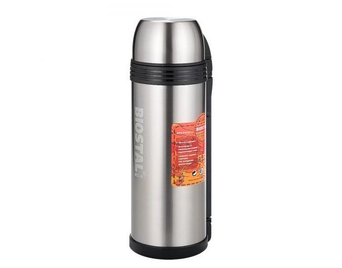 Термос Biostal универсальный для еды и напитков Спорт с ручкой 2 л
