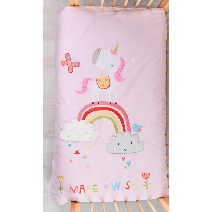Купить Одеяла, Одеяло Bizzi Growin Dream Rainbow and Unicorns 120х100 см