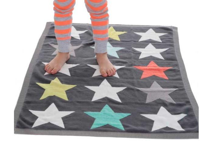Купить Пледы, Плед Bizzi Growin Одеяло Superstar вязаное 90х70 см