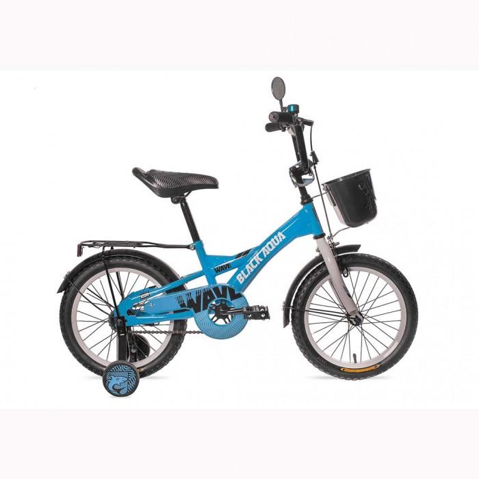"""Картинка для """"Велосипед двухколесный BlackAqua Wave 14"""""""" со светящимися колесами"""""""