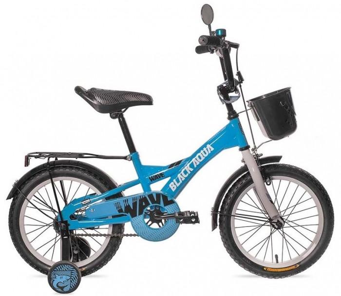 """Картинка для """"Велосипед двухколесный BlackAqua Wave 16"""""""" со светящимися колесами"""""""