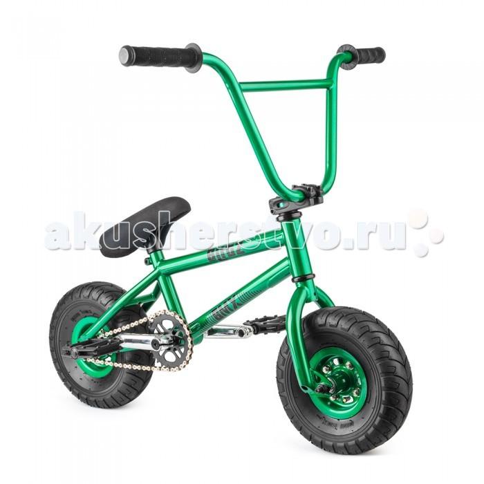 Велосипед двухколесный Blitz M1 Mini BMXM1 Mini BMXВелосипед двухколесный Blitz M1 Mini BMX предназначенный для трюкового катания в городских условиях и на специальных площадках.  Особенности: Рама: Полностью HiTen стальная рама. Горизонтальные дропауты. BMX-дизайн Гарантия на раму: 1 год Руль: Chromoly. Ширина – 730 мм, высота – 250 мм, 11 дюймов Вилка: Cro-Moly вилка с горизонтальными дропаутами. Повышенная прочность Каретка: Закрытые подшипники Mid под ось 19 мм Обода: Стальное колесо совмещенное с втулкой (без спиц) Цепь: КМС Габариты: в собранном виде 880x390x800 мм Покрышки: Размер 10х3,0 Седло: Совмещено с подседельным штырем d 25.0 Шатун: FullChromoly 3 - элементные, длина - 90 мм, звезда - 28T, ось - 19 мм под 8 шлицов Вынос руля: Алюминевый Задняя втулка: втулка, ось 10 мм, с 4-мя промподшипником №6200 и 6800, 9T звезда Педали: Пластиковые, широкие Рулевая колонка: 1 1/8 Звезда передняя: Стальная 28Т Передняя втулка: Стальная втулка, ось 10 мм, с 2-мя промподшипником №6200 Ниппели: Авто ниппель В собранном виде имеет размеры: длина-880 мм, ширина- 390 мм, высота- 800 мм.<br>