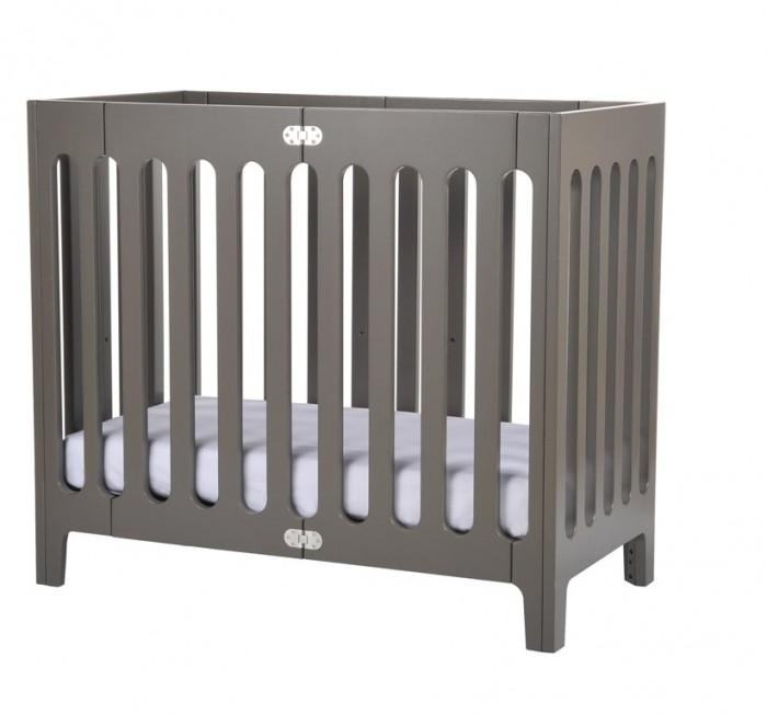 Детская мебель , Детские кроватки Bloom Alma Mini с матрасом арт: 17792 -  Детские кроватки