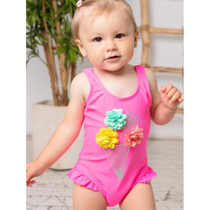 купальники happy baby купальник двухпредметный для девочки Купальники Bluebells Купальник для девочки BB703