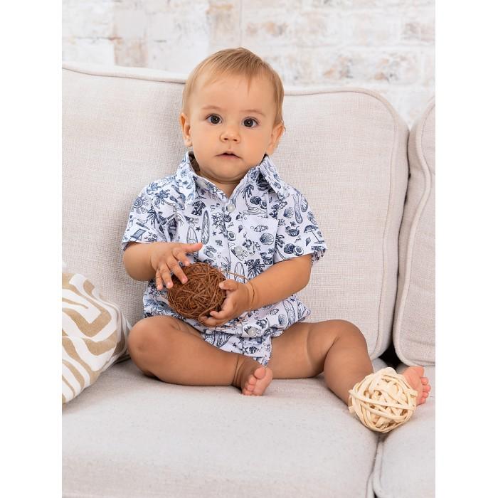 Фото - Боди, песочники, комбинезоны Bluebells Рубашка-боди для мальчика BB502 боди песочники комбинезоны carter s боди для мальчика 5 шт 1i730810