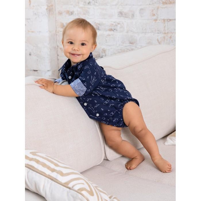 Фото - Боди, песочники, комбинезоны Bluebells Рубашка-боди для мальчика BB503 боди песочники комбинезоны carter s боди для мальчика 5 шт 1i730810