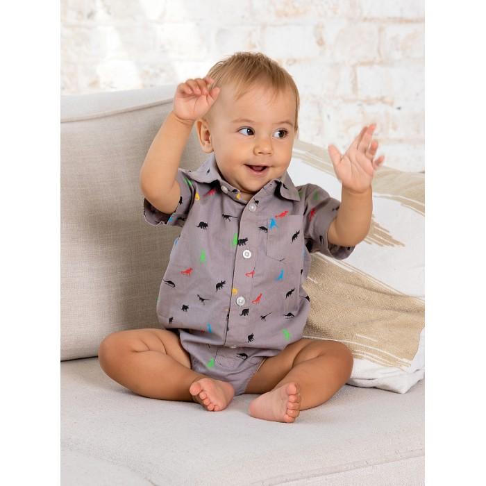 Фото - Боди, песочники, комбинезоны Bluebells Рубашка-боди для мальчика BB505 боди песочники комбинезоны carter s боди для мальчика 5 шт 1i730810