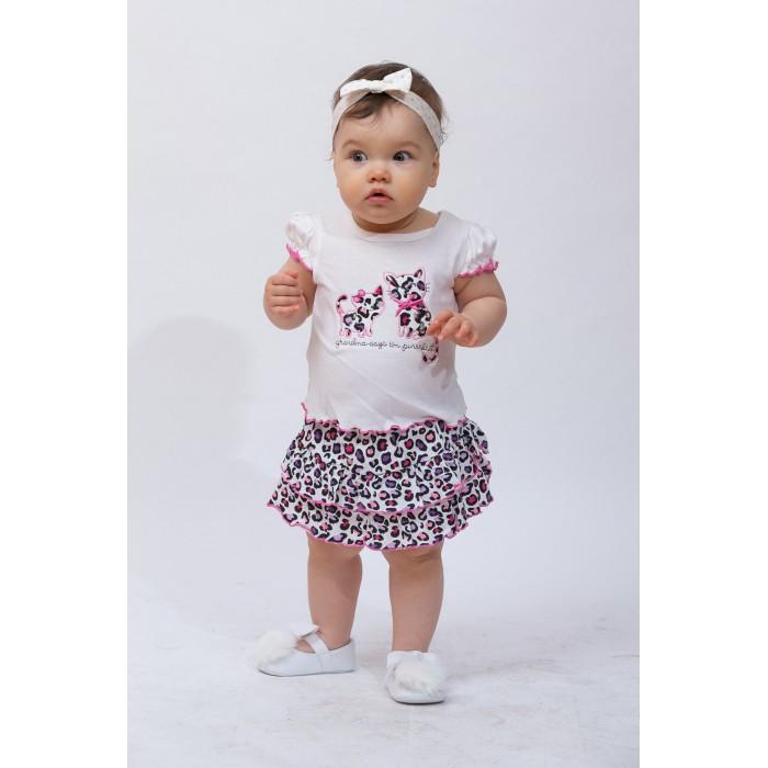 Blueberry Bon Bon Комплект для девочки (блузка и юбка) 23-1547
