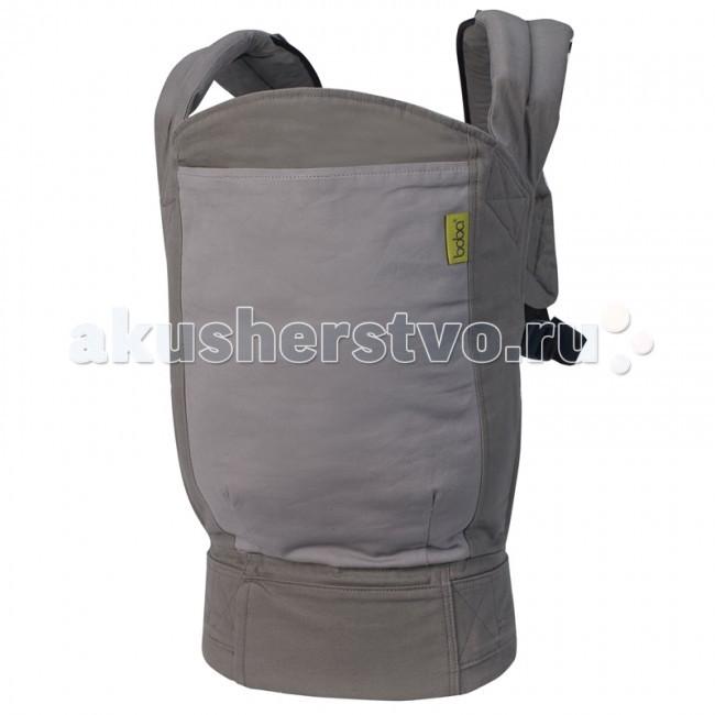 Рюкзак-кенгуру Boba CarrierCarrierЭргономичные рюкзачки американской фирмы Boba (Boba carrier 4G) — это физиологичные переноски для детей, отличающиеся удобством и быстротой надевания, нетривиальным дизайном и нужными аксессуарами.  Основные характеристики рюкзачка Boba: Подходит для детей весом от 3,5 до 20 кг.  Для детей весом от 3,5 до 6,8 кг к каждому рюкзаку прилагается специальная отстегивающаяся вставка на кнопках, с помощью которой можно носить самых маленьких малышей в правильной «М» позиции. Рассчитан на родителей ростом от 150 до 190 см. Большой крепкий пояс с диапазоном ширины от 60 см до 150 см. Отлично регулируется. Можно носить на талии и на бедрах. Возможность ношения ребенка в положении спереди (на животе) и сзади (на спине). Широкая и высокая спинка рюкзака для хорошего притяжения ребенка. Мягкие плечевые лямки с удобно регулируемой соединительной стропой. Безопасные фастексы-пряжки со страховкой от защемления пальцев. Все стропы оснащены специальными резинками для фиксации лишней длины ремня. Удобно кормить ребенка грудью, не вынимая его из переноски, а всего лишь ослабив немного натяжение строп. Когда Ваш малыш бегает вокруг Вас, рюкзак Boba легко фиксируется на талии верхними фастексами в компактное положение. В изготовлении рюкзаков Воba используется 100% хлопок и органический хлопок из Техаса. Возможна ручная и машинная стирка. Инструкция прилагается.  Дополнительные характеристики рюкзака Boba: Запатентованные съемные стремена с возможностью регулировки, созданные для обеспечения позы лягушки подросшим деткам (правильное разведение ножек в положении коленочки выше попы). Также детские ножки, вставленные в стремена, не бьют несущего родителя по бедрам или ногам. Одна из самых удачных особенностей этой переноски — возможность носить ребенка с самого рождения (от 3,5 кг). Теперь внутри эрго-рюкзака Boba расположена съемная (на кнопках) подушка, которая может быть установлена двумя разными способами и предназначена для ношения детей до достижения