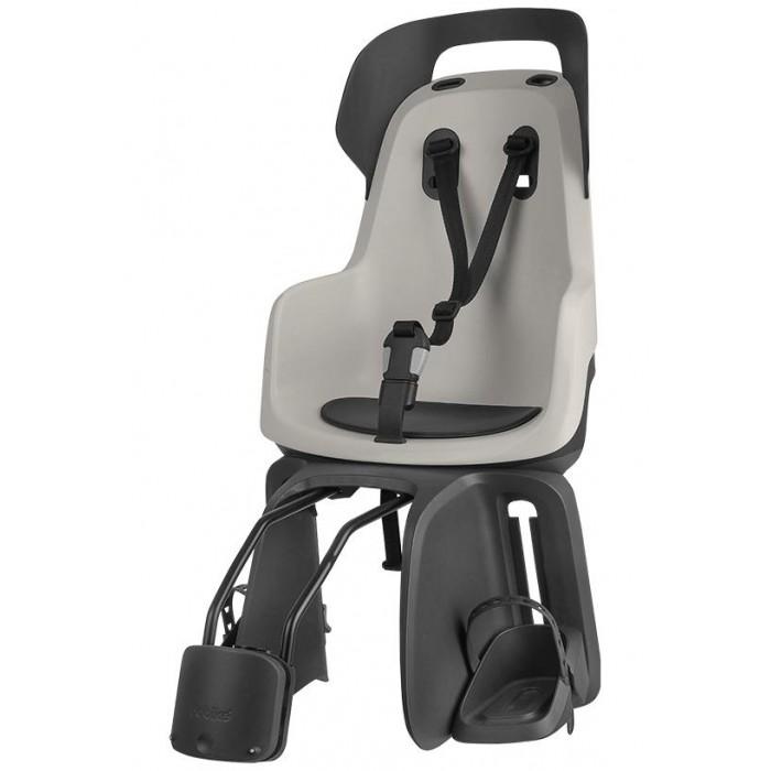 Bobike Велокресло заднее Go с креплением на рамуВелокресла<br>Bobike Велокресло заднее Go с креплением на раму разработано специально для детей возрастом от 9 месяцев до 5 лет и весом от 9 до 22 кг.  Уникальная двустенная конструкция и яркие цвета делают эту модель исключительно безопасной и стильной.   Подголовник кресла обеспечивает дополнительную защиту ребёнку и оснащён большим светоотражателем на обратной стороне для улучшения видимости велосипедиста на дороге.   Комфортная подкладка из водооталкивающего материала.  Наплечные ремни имеют регулировку длины и трехпозиционную регулировку по высоте крепления и будут расти вместе с Вашим малышом. А так же они удержат вашего ребёнка в правильном положении, если во время долгой прогулки он уснёт.   Подставки для ног легко регулируются по высоте без использования инструментов и имеют защиту ног от попадания в спицы.  Система крепления кресла Click  Go быстро устанавливается на велосипед с помощью 5мм шестигранника, который входит в комплект. Велокресло легко устанавливается в крепление, не требует инструментов и занимает всего несколько секунд. При желании, Вы можете быстро переставлять кресло между разными велосипедами, купив дополнительное крепление Click  Go. Кресло Bobike Go frames устанавливается только на раму (подседельную трубу диаметром от 28 до 40 мм) велосипеда.  Для большей безопасности Вашего малыша, рекомендуем приобрести шлем Bobike.  Европейский сертификат безопасности EN 14344, испытано и одобрено TUV.