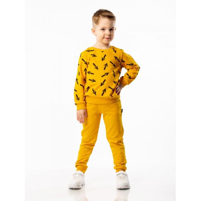 Bodo Комплект (свитшот+брюки) 11-101UКомплекты детской одежды<br>Bodo Комплект (свитшот+брюки) 11-101U. Свитшот без застежек, округлый вырез горловины, полуприлегающий покрой, брюки-джоггеры, низ на манжетах.  Состав: футер двунитка 95% хлопок 5% лайкра. Унисекс.