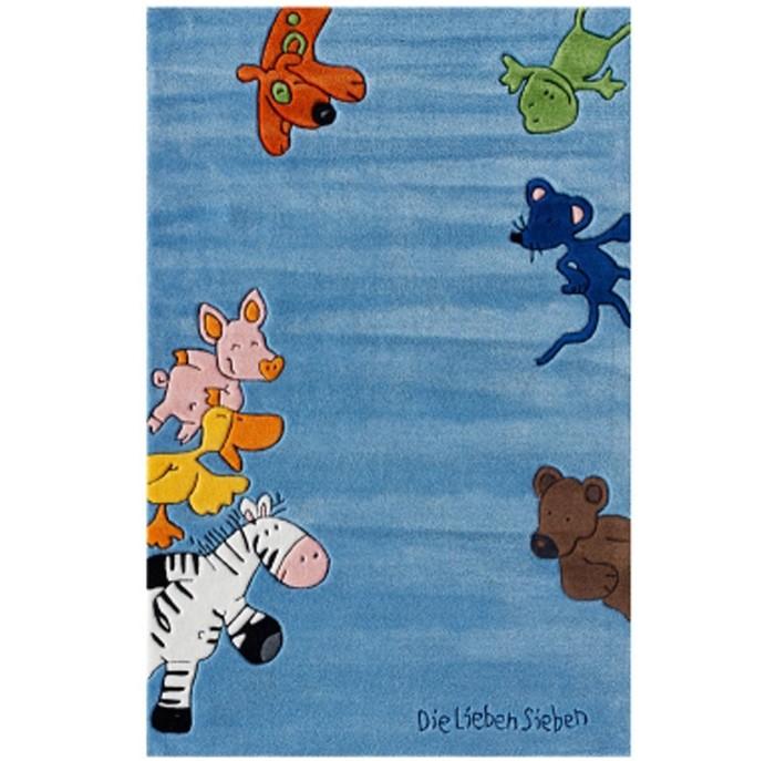 Детская мебель , Аксессуары для детской комнаты Boing Carpet Ковёр Die Lieben Sieben 2195 арт: 242749 -  Аксессуары для детской комнаты