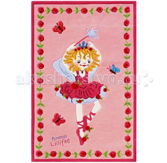 Boing Carpet Ковёр Prinzessin Lillifee 2200Ковёр Prinzessin Lillifee 2200Ковёр Prinzessin Lillifee 2200 добавит мягкости и уюта в любую детскую комнату девочки, благодаря чему она станет похожа на сказочный мир, полный чудес и доброты.  Мягкий, плотный ворс ковра защитит ребенка при падении на пол и создаст дополнительную изоляцию.  В состав волокон, используемых при производстве ковра входит Хитозан - вещество 100% натурального происхождения, обладающее антибактериальным свойством и нейтрализующее запахи.  Высота ворса составляет 10 мм.<br>