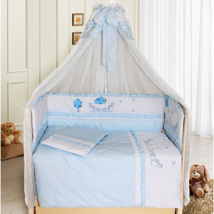 Комплекты в кроватку Bombus Веселая семейка (7 предметов) балдахин bombus l abeille сетка