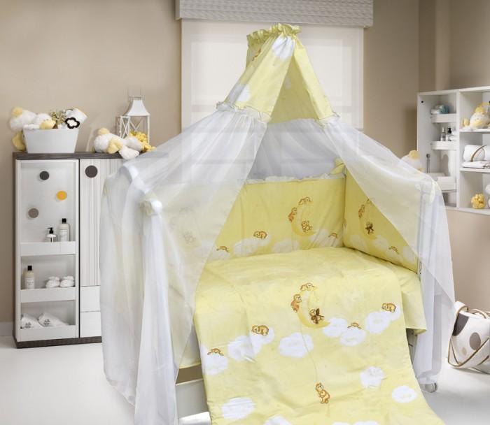 Постельные принадлежности , Комплекты в кроватку Bombus Лунный мишка (7 предметов) арт: 16222 -  Комплекты в кроватку
