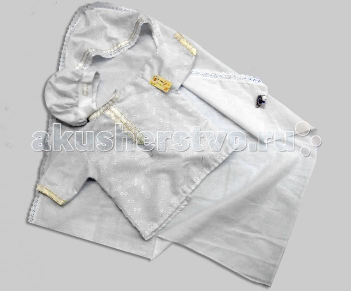 Крестильная одежда Bombus Крестильный набор для мальчика Всеслав (3 предмета) плакса крестильный набор натали 3 предмета