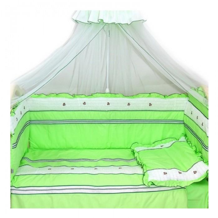Купить Комплекты в кроватку, Комплект в кроватку Bombus Любавушка (7 предметов)