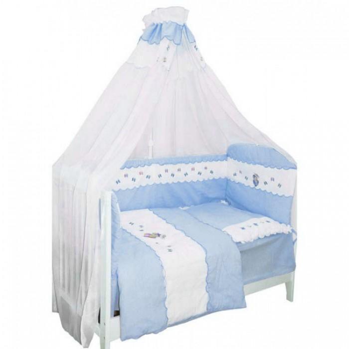 Комплект в кроватку Bombus Ксюша (7 предметов)