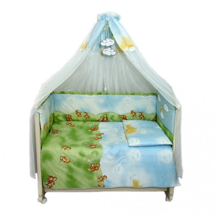Купить Комплекты в кроватку, Комплект в кроватку Bombus Солнечный денек (7 предметов)