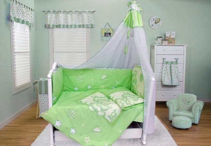 Комплект в кроватку Bombus Топтыжка (7 предметов)
