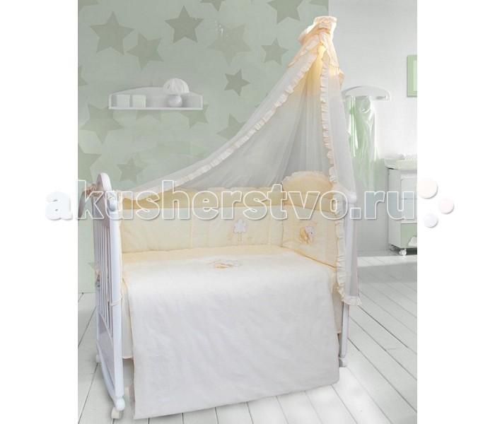 Бортики в кроватку Bombus Светик бортики в кроватку nattou charlotte