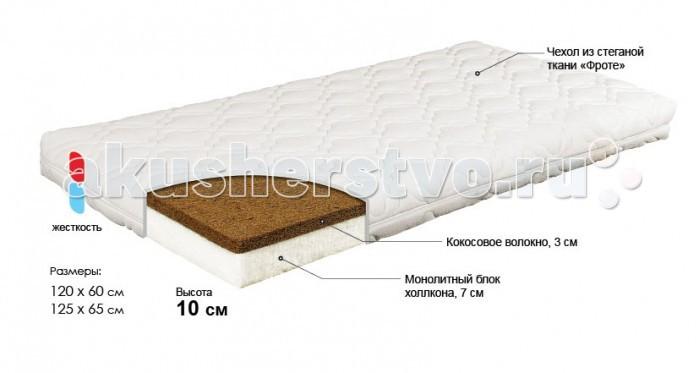 Матрасы Bombus Карапуз 65х125х11 см