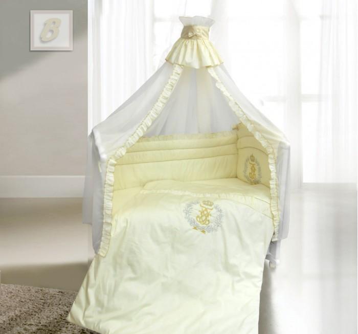 Постельные принадлежности , Комплекты в кроватку Bombus Королевский (7 предметов) арт: 7253 -  Комплекты в кроватку