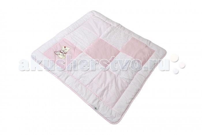 Постельные принадлежности , Одеяла Bombus Лоскутное с вышивкой 110х110 см арт: 97062 -  Одеяла