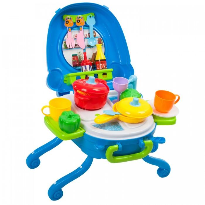 Игровые наборы Bondibon Кухня со светом и звуком в чемоданчике