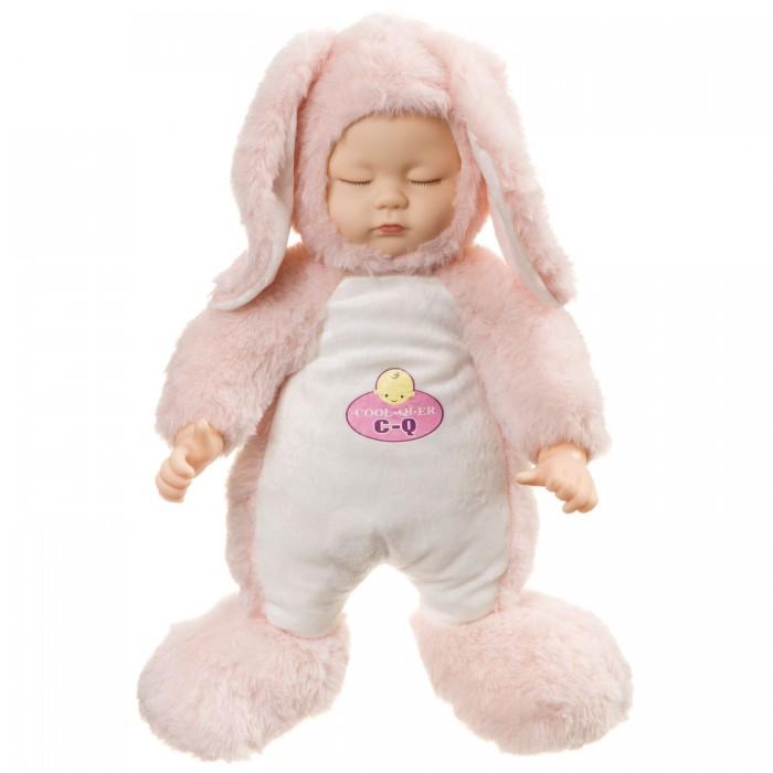 Куклы и одежда для кукол Bondibon Кукла Oly для сна Моя заинька со звуком и мягким туловицем