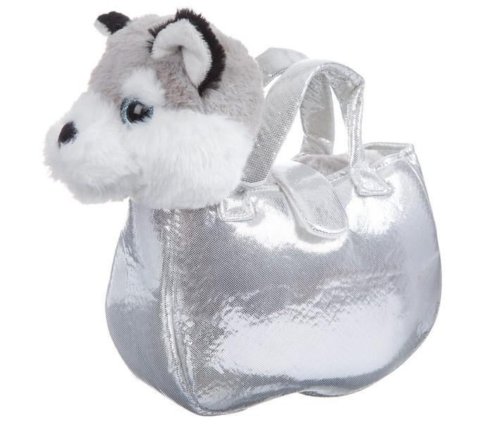 Картинка для Мягкие игрушки Bondibon Милота Лайка в сумке с аксессуарами 20 cм