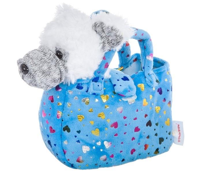 Картинка для Мягкие игрушки Bondibon Милота Терьер в сумке с сердечками и аксессуарами 19 cм