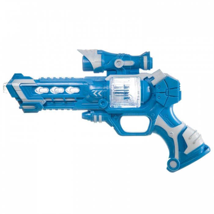 Фото - Игрушечное оружие Bondibon Пистолет Атака игрушечное оружие bondibon оружие с мягкими пульками револьвер 2 в 1