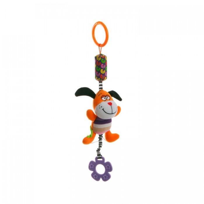 Подвесные игрушки Bondibon Подвеска с колокольчиком 40 см развивающая игрушка жирафики подвеска с колокольчиком львенок леси