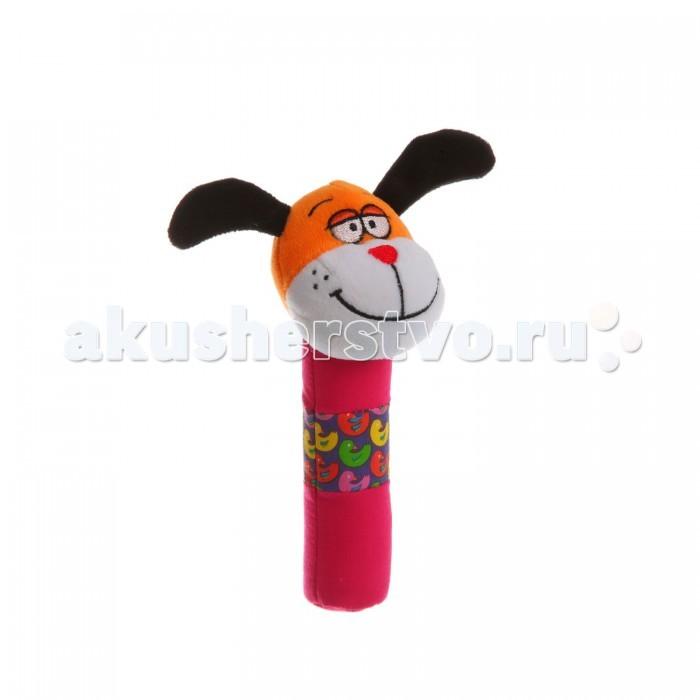 Развивающие игрушки Bondibon Мягкая пищалка 16,5 см погремушки умка пищалка