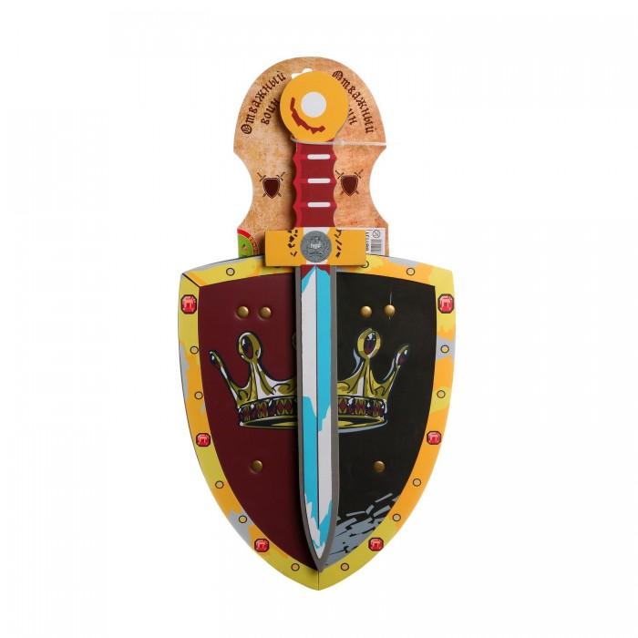 Bondibon Набор мягкого оружия Отважный воин: Щит и меч