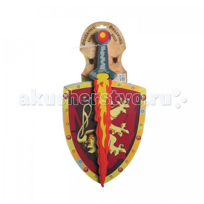 это детские мечи и щиты для