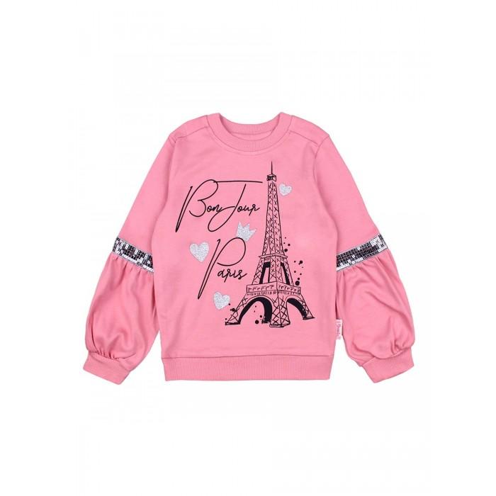 Фото - Толстовки и свитшоты Bonito kids Джемпер для девочки Bonjour Paris BK1374K джемпер sago kids k6221 зеленый